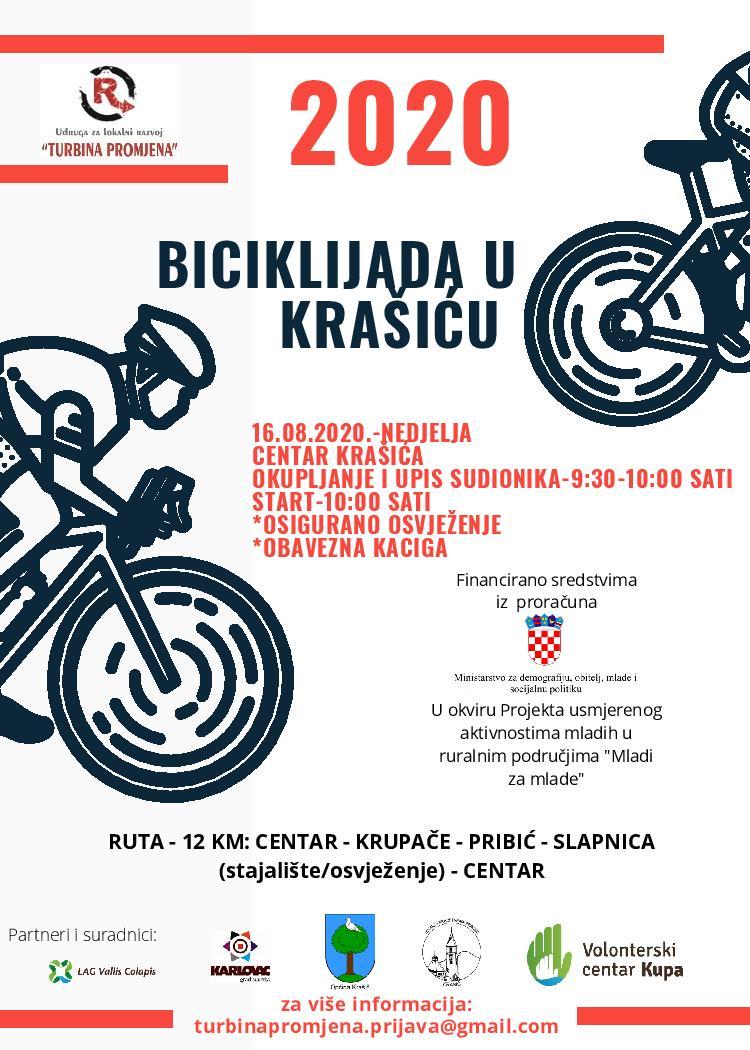 Biciklijada povodom Međunarodnog dana mladih