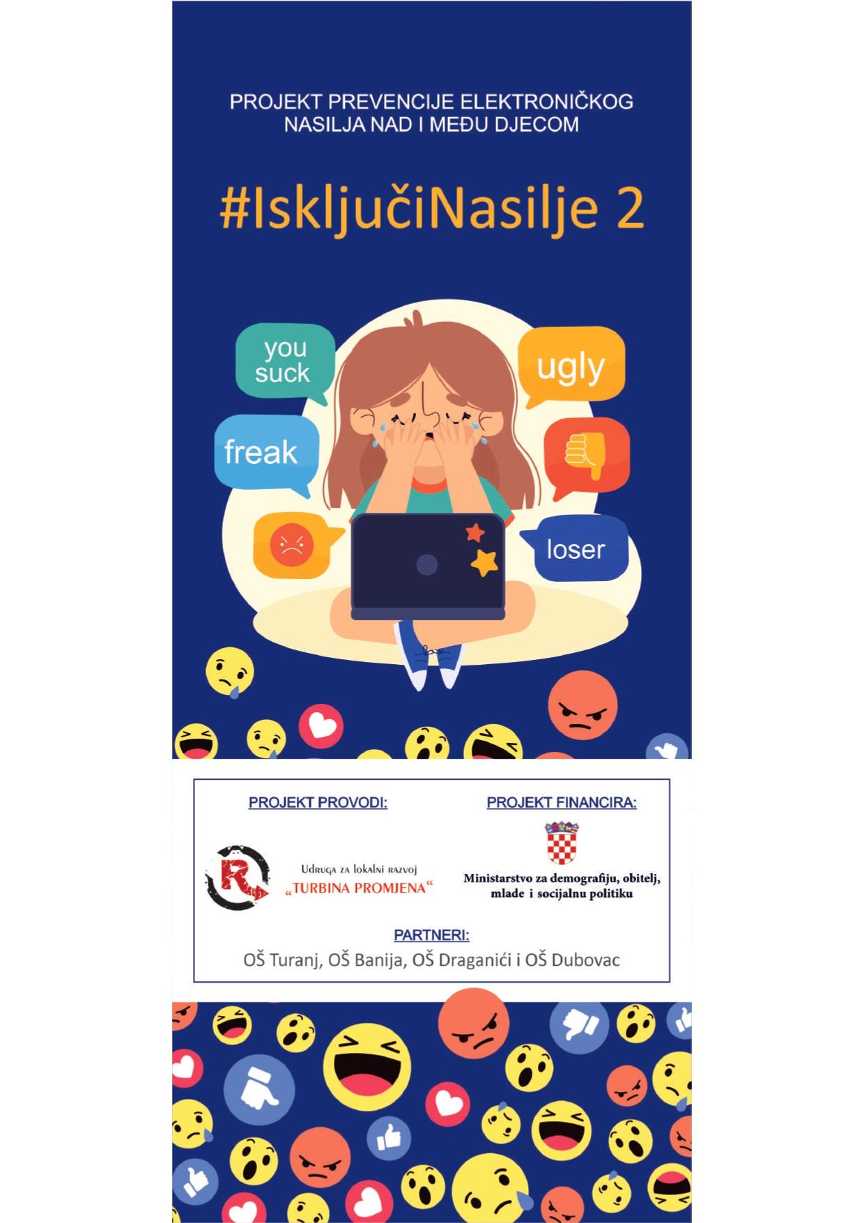 """Završetak Projekta prevencije elektroničkog nasilja nad i među djecom """"#IsključiNasilje 2"""""""